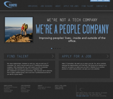 WEBSITE: Concepting, wireframe and sitemap, copy-editing, testing, launch, develop training materials